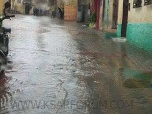 تحذير: أمطار عاصفية بالقصر الكبير ابتداءا من الأحد