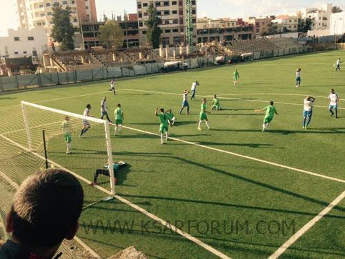 ديربي اللوكوس : النادي القصري يحقق تعادل بطعم الانتصار