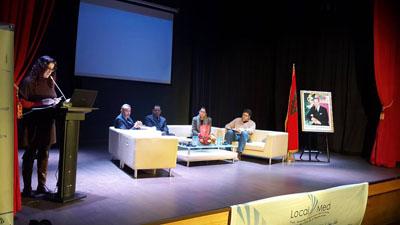 عمدة مدينة روبي بمنطقة برشلونة وأعضاء شبكة مدن شمال المغرب في لقاء لتبادل التجارب حول موضوع النجاعة الطاقية