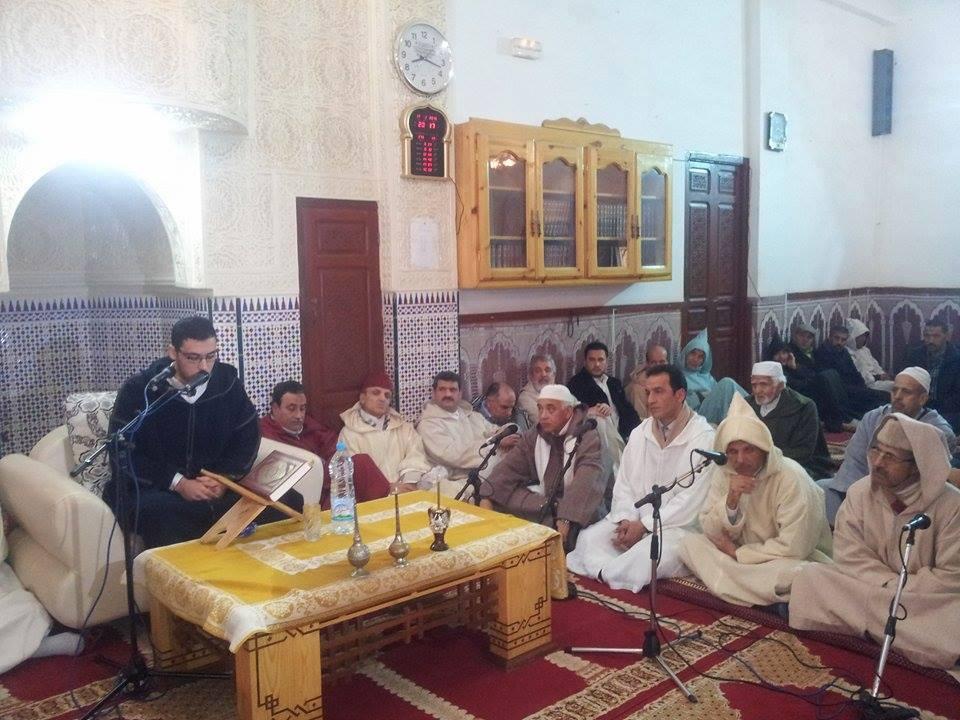 جمعية أبي المحاسن للمديح والسماع تحيي حفلا دينيا بمسجد الأندلس