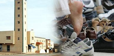 اولاد احميد : مصلون يلقون القبض على سارق أحذيتهم بالمسجد
