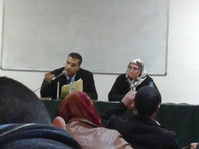 محاضرة الدكتور مصطفى الغرافي بتطوان: سردية الفكر في الأعمال التخييلية لعبد الله العروي