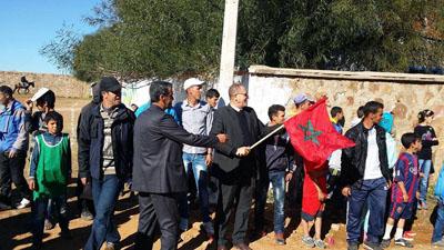 مجموعة مدارس الإمام  مالك تخلد ذكرى تقديم وثيقة المطالبة بالاستقلال بحضور السيد النائب الإقليمي