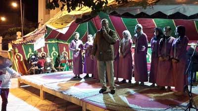 جمعية الانبعاث تنشط اليوم الأول للخيمة التضامنية لنصرة  النبي محمد صلى الله عليه وسلم