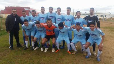 فريق ثانوية طريق الرباط يتأهل لنهائي البطولة المحلية لكرة القدم لكرة القدم