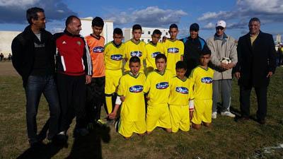 أشبال الطبري الإعدادية يفوزون بالبطولة المحلية لكرة القدم بقيادة الأستاذ محمد خونة