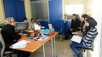 """تلميذات وتلاميذ ثانوية أحمد الراشدي في ضيافة الوكالة البنكية """"بريد بنك"""""""