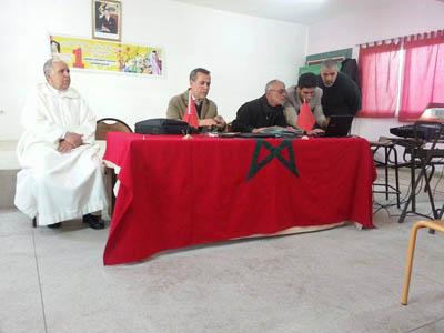تجديد مكتب جمعية آباء و أولياء التلاميذ بإعدادية علال بن عبد الله