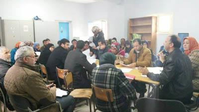 النيابة الإقليمية بالعرائش تعقد لقاءا تواصليا مع الجمعيات العاملة في برنامج محو الأمية و التربية غير النظامية