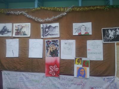 أمسيّةً فنية متنوّعة في اليوم الثالث من الأسبوع الثقافي والحقوقي الأول لثانوية المنصور الذهبي التاهيلية بالقصر الكبير