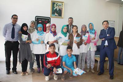 تلاميذ الطبري في ضيافة البنك المغربي للتجارة الخارجية