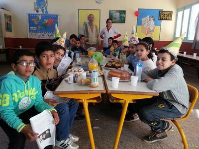 مدرسة يوسف بن تاشفين تنظم حفلا بمناسبة اليوم العالمي للمرأة