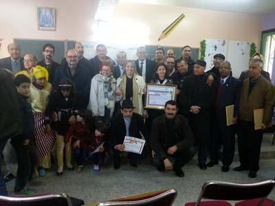 إقليم العرائش:  برنامج محاربة تشغيل الأطفال عبر المدرسة يقود وفدا نقابيا إسبانيا لزيارة عدد من المؤسسات  التعليمية