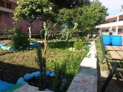 مدرسة يوسف بن تاشفين تنظم ورشا بيئيا وتربويا