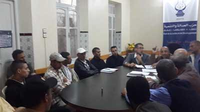 الاتحاد الوطني للشغل بالمغرب فرع القصر الكبير في لقاء مع ممثلي المكاتب القطاعية للاستعداد لفاتح فاتح وانتخابات اللجن الثنائية.