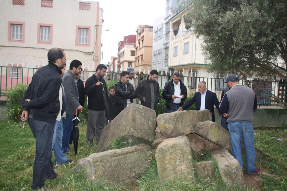 جمعية مدرسي الاجتماعيات بالقصر الكبير و محيطها تنظم جولة بالمدينة العتيقة