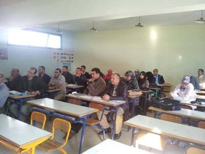 ثانوية الطبري الاعدادية تحتضن درسا تطبيقيا في مادة التربية الاسلامية