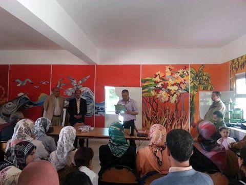هيئات متعددة تكرم اﻷستاذ عبد الرحيم العاقل على شرف تتويج الثانوية اﻹعدادية اﻹمام مسلم في الكرنفال التربوي الثاني