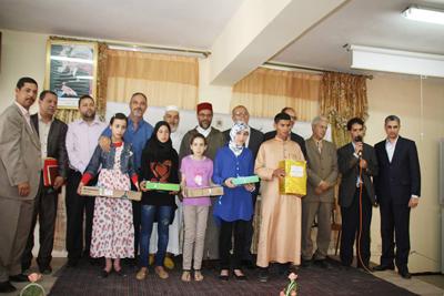 المجلس العلمي المحلي ينظم حفل توزيع الجوائز على المتفوقين في مسابقة حفظ الحديث