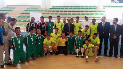 انتهاء بطولة جمعية التواصل بفوز ثانوية سيدي محمد بن عبد الله على ثانوية طريق الرباط