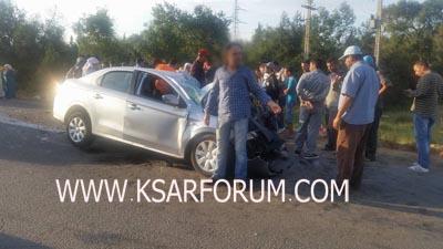 الزوادة : حادثة سير تخلف قتيلا و جريحا