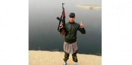 طفل عرائشي يلتحق بداعش و ينشر صوره حاملا الكلاشينكوف