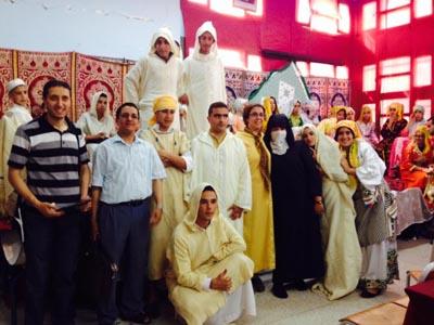 الثانوية التأهيلية أحمد الراشدي تنظم معرضا تراثيا