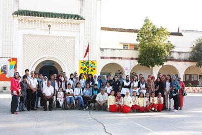 جمعية الانبعاث تنظم المرحلة الاولى من المسابقة الثقافية بين الاعداديات
