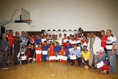جمعية الجيل الجديد تسدل الستار على دوري كرة القدم المصغرة