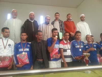 """جمعية شباب القصر الكبير لكرة القدم المصغرة تختتم  دوري """"القِيم"""" بين طلبة التعليم العتيق"""