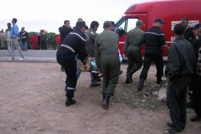 سيارة تصدم طفلا بطريق أولاد احميد قبيل آذان المغرب