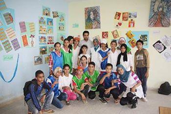 تلاميذ الطبري يبدعون في معرض الفنون تحت إشراف الأستاذ أحمد الزروالي
