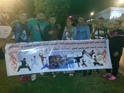 فنون الحرب : نادي التنين الأحمر يتألق في البطولة الوطنية