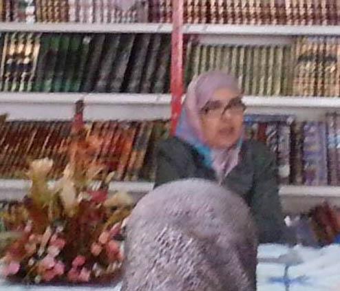 الأستاذة حسناء البطاني أول قصرية ترشح لعضوية المجلس العلمي الأعلى و المجلس العلمي الإقليمي