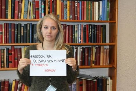 متضامنُون دوليُّون يطالبُون بالسراح لبنمسعُود