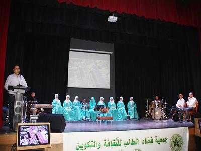جمعية فضاء الطالب تحيي أمسية فنية في اطار الأيام الرمضانية السادسة