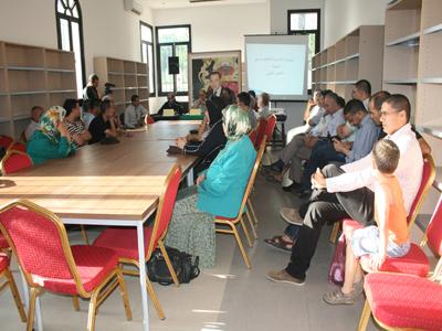 الجامعة الشعبية تعقد لقاء تواصليا مع فعاليات المجتمع المدني بحضور المدير العام لفرع فيدرالية الجامعات الشعبية الالمانية بالمغرب