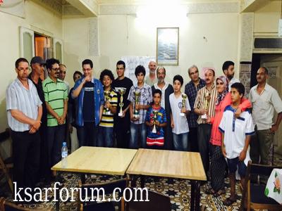 جمعية الفرس العربي للشطرنج تختتم دوري عيد العرش المجيد