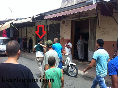 مواطنون يلقون القبض على سارق محل تجاري بسوق سبتة بالقصر الكبير