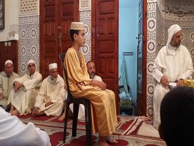 القارئ القصري أسامة الخليل يفوز بمسابقة الصفوة في تجويد القران الكريم بالعرائش