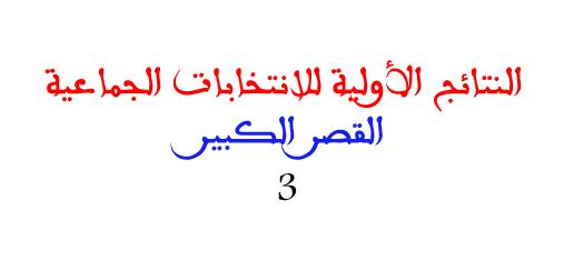 عاجل .. العدالة تستمر في التفوق على الحركة الشعبية مؤقتا