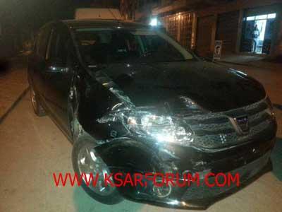 عاجل : إصابة سيدة في حادث سير بحي المسيرة الخضراء