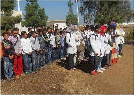 انقطاع جماعي عن التمدرس لتلاميذ مجموعة مدارس أولاد علي المدنة بعد حصولهم على الشهادة