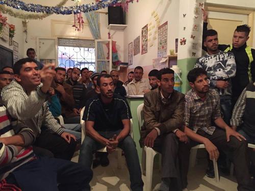 الجمع العام الاسثتنائي لودادية الأمل بحي المناكيب يفرز السيد يوسف الركاب رئيسا