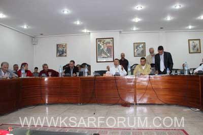 المجلس البلدي للقصر الكبير يعقد دورة استثنائية