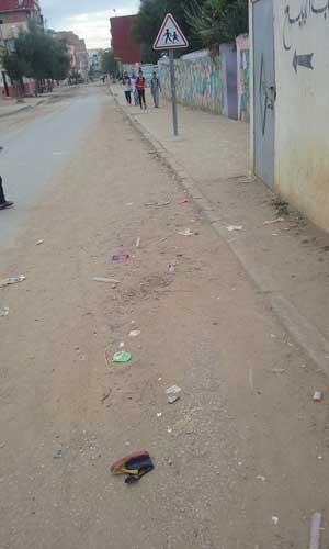 مدرسة ابن زهر : نقل تلميذ إلى المستشفى بعد ارتطامه بسيارة