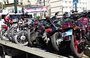 حملة أمنية بالقصر الكبير تسفر عن حجز ازيد من عشرين دراجة نارية و عشرين موقوف