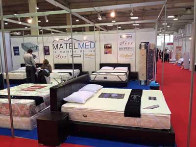 شركة ماطيلميد القصرية تشارك في المعرض الدولي التركي للأثاث و الديكور