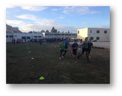 البطولة المدرسية للعدو الريفي للثانوية التأهيلية أحمد الراشدي الموسم الدراسي 2015 / 2016