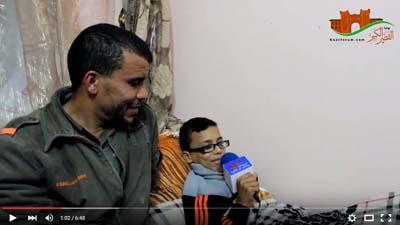 """لقاء مع الطفل مروان بعد بتر قدمه بألعاب الملاهي """"السيركو"""""""